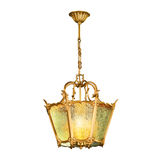 Lámpara del vintage aislada en blanco Imagen de archivo libre de regalías