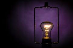 Lámpara eléctrica. Imagen de archivo