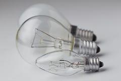 Lámpara eléctrica Imágenes de archivo libres de regalías