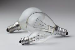 Lámpara eléctrica Foto de archivo libre de regalías
