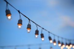 Lámpara eléctrica Fotografía de archivo