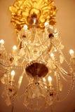 Lámpara eléctrica vieja de la lámpara Foto de archivo libre de regalías