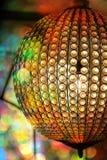 Lámpara elegante de la bola de cristal Imagen de archivo