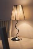 Lámpara elegante de la noche Imagen de archivo libre de regalías