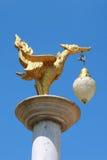 Lámpara en arte tailandés Imágenes de archivo libres de regalías