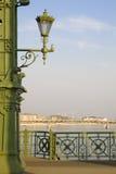 Lámpara en Budapest fotografía de archivo libre de regalías