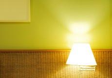 Lámpara en el cuarto Foto de archivo libre de regalías