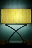 Lámpara en el fondo de la pared fotografía de archivo libre de regalías