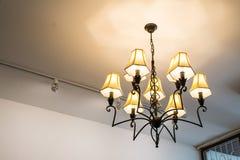Lámpara en el piso Fotografía de archivo