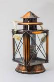 Lámpara en fondo Fotografía de archivo