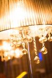 Lámpara en interior Foto de archivo libre de regalías
