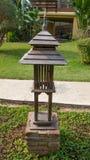 Lámpara en jardín Fotografía de archivo libre de regalías
