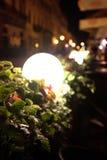 Lámpara en la calle imagen de archivo libre de regalías