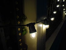 Lámpara en la pared Fotografía de archivo