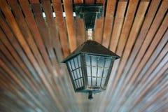 Lámpara en luz del día Fotografía de archivo