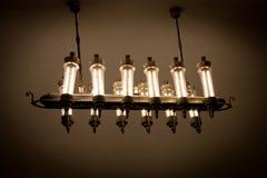 Lámpara en Moscú subterráneo Imagen de archivo libre de regalías