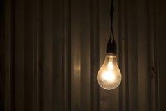 Lámpara en obscuridad Fotos de archivo libres de regalías