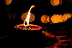 Lámpara en templo Fotografía de archivo libre de regalías