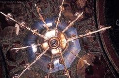 Lámpara en una iglesia   foto de archivo libre de regalías