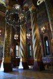 Lámpara en una iglesia Fotos de archivo libres de regalías