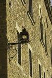 Lámpara en una pared Foto de archivo