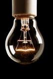Lámpara encendido Foto de archivo libre de regalías