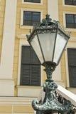 Lámpara esculpida austriaco Imagenes de archivo
