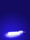 Lámpara fluorescente Imagen de archivo