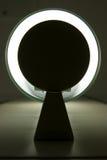 Lámpara fluorescente abstracta Imágenes de archivo libres de regalías