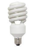 Lámpara fluorescente ahorro de energía. imagen de archivo libre de regalías