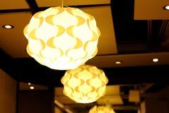 Lámpara hermosa Fotografía de archivo libre de regalías