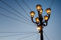 Lámpara imperial de la ciudad del estilo Imagen de archivo