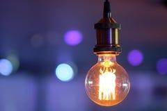 Lámpara incandescente fotografía de archivo