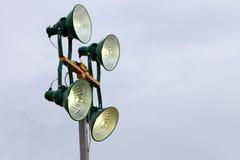 Lámpara industrial Imagen de archivo libre de regalías