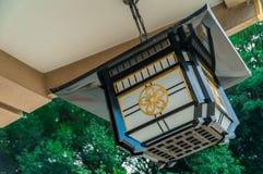 Lámpara japonesa Imágenes de archivo libres de regalías