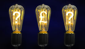 lámpara ligera de lujo retra fotografía de archivo libre de regalías