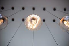 Lámpara ligera del vintage Foto de archivo libre de regalías