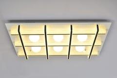 Lámpara llevada moderna del techo Imagen de archivo