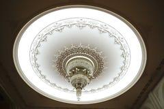 Lámpara lujosa del techo Foto de archivo