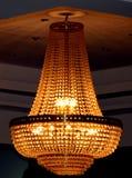 Lámpara lujosa del techo Foto de archivo libre de regalías