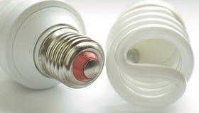 Lámpara luminosa del tubo fotos de archivo