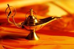 Lámpara mágica fotos de archivo libres de regalías