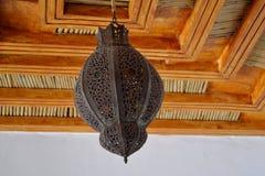 Lámpara marroquí Imagenes de archivo