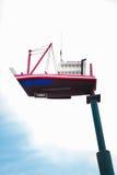 Lámpara modelo del barco fotografía de archivo