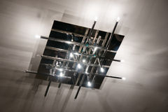 Lámpara moderna Foto de archivo