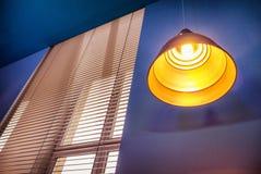Lámpara moderna Fotografía de archivo