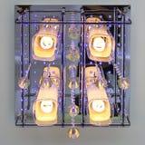 Lámpara moderna del techo del art déco Fotografía de archivo libre de regalías