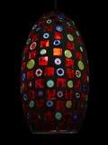 Lámpara multicolora Fotografía de archivo