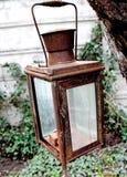 Lámpara oxidada Imagenes de archivo