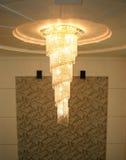 Lámpara pendiente del estilo fotografía de archivo